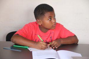 Eleve en pleine écriture et aide aux devoirs