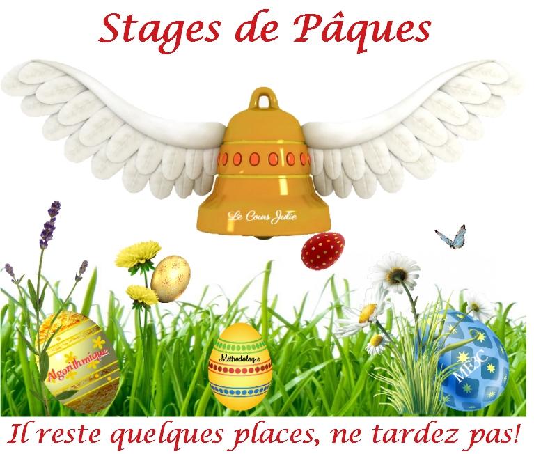stages pâques